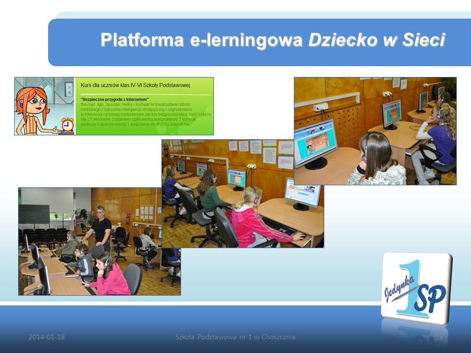 Platforma e-lerningowa Dziecko w Sieci