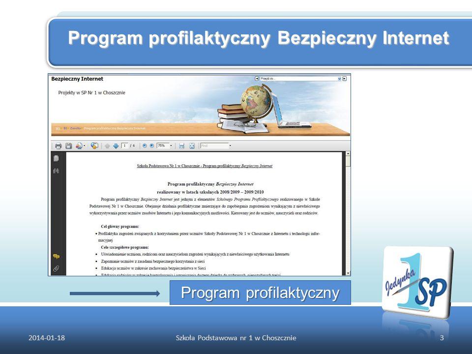Program profilaktyczny Bezpieczny Internet