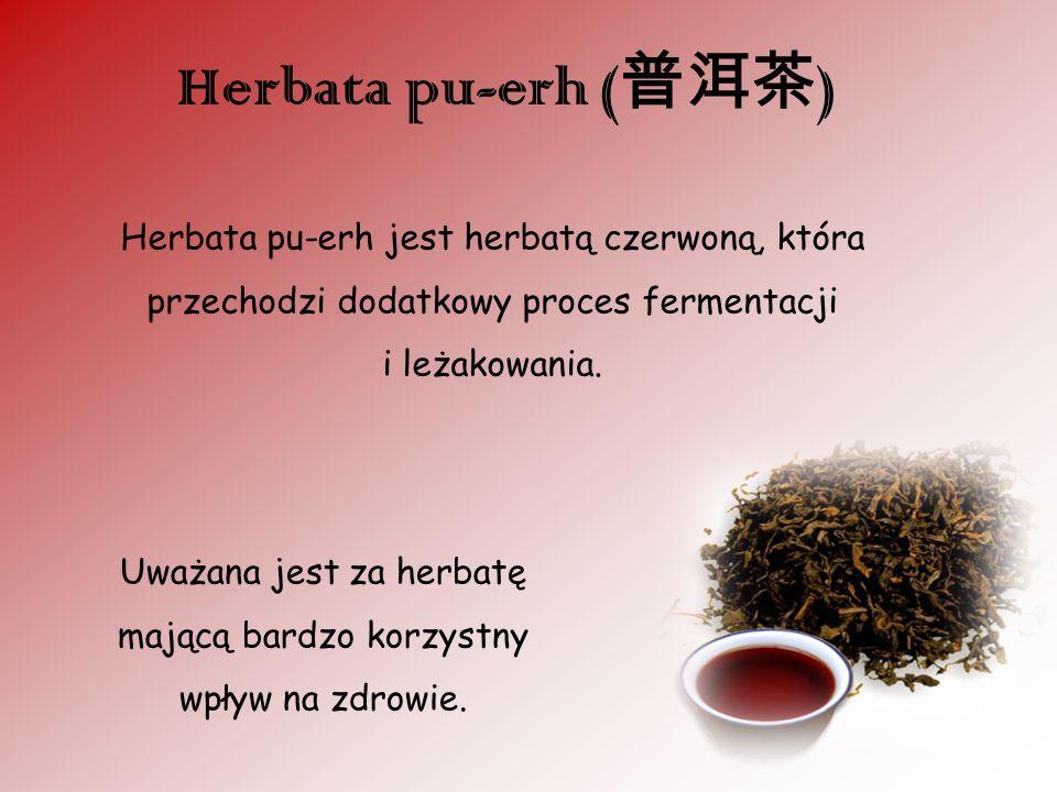 Uważana jest za herbatę mającą bardzo korzystny wpływ na zdrowie.