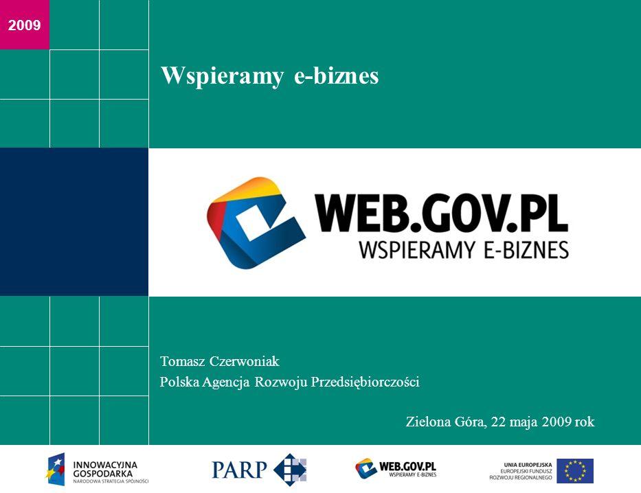 Wspieramy e-biznes Tomasz Czerwoniak