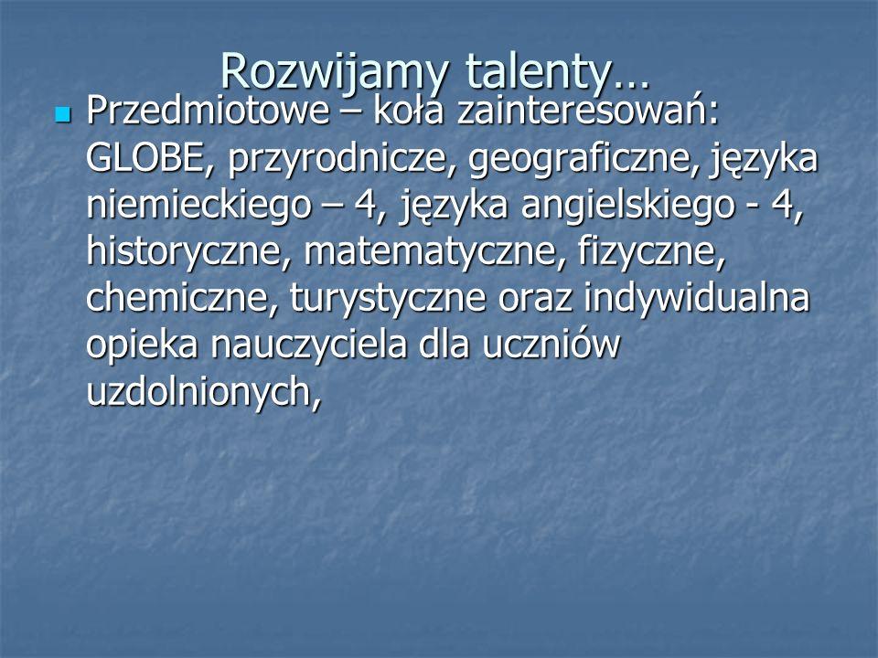 Rozwijamy talenty…