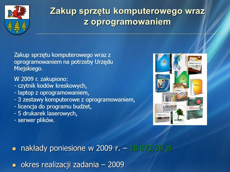 Zakup sprzętu komputerowego wraz z oprogramowaniem