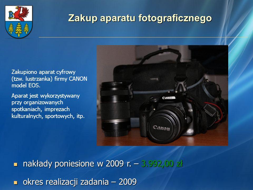 Zakup aparatu fotograficznego