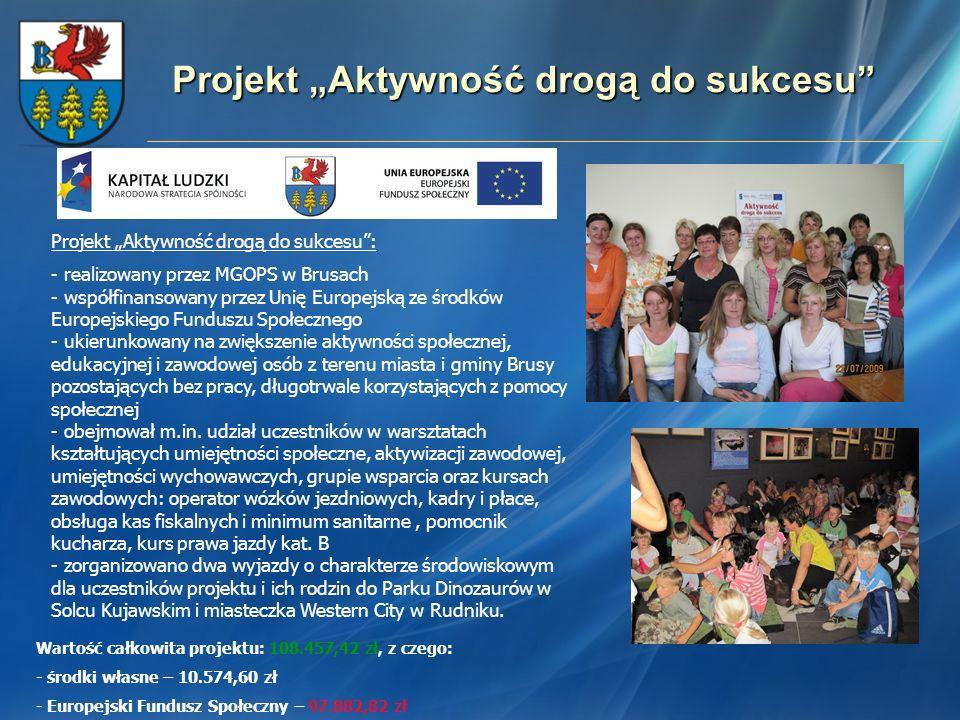 """Projekt """"Aktywność drogą do sukcesu"""