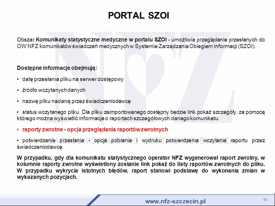 PORTAL SZOI