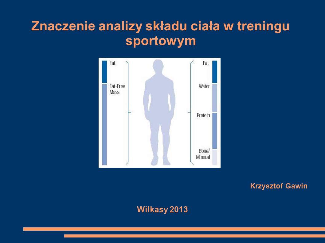 Znaczenie analizy składu ciała w treningu sportowym