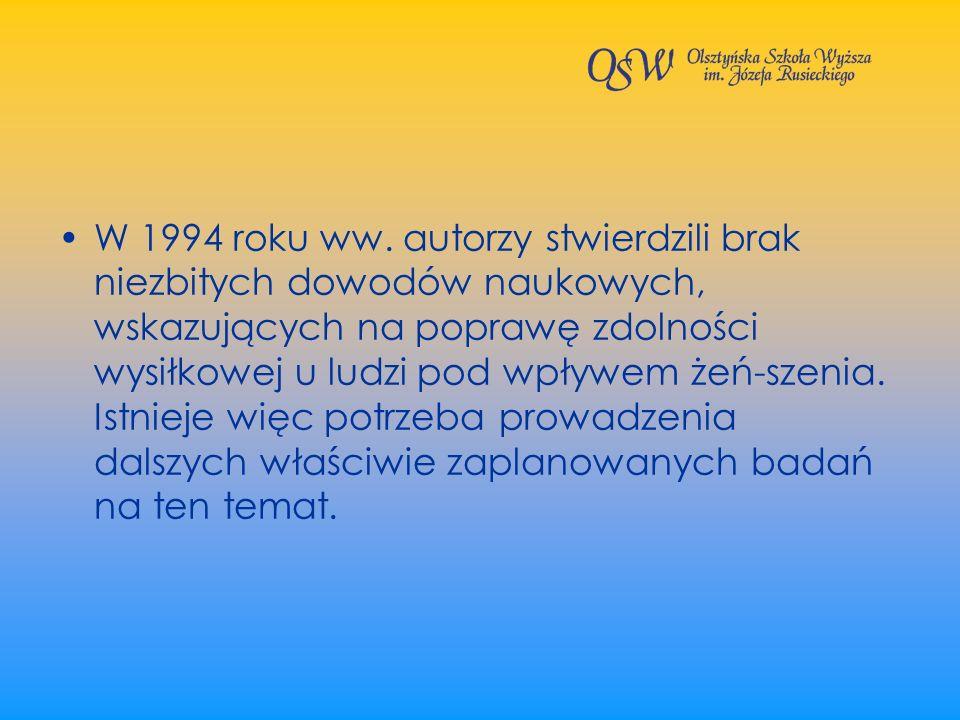 W 1994 roku ww.
