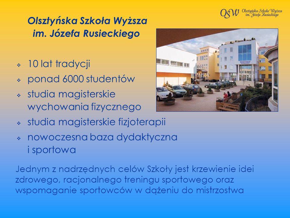 Olsztyńska Szkoła Wyższa im. Józefa Rusieckiego