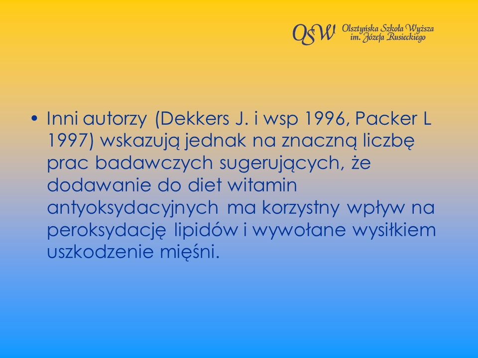 Inni autorzy (Dekkers J