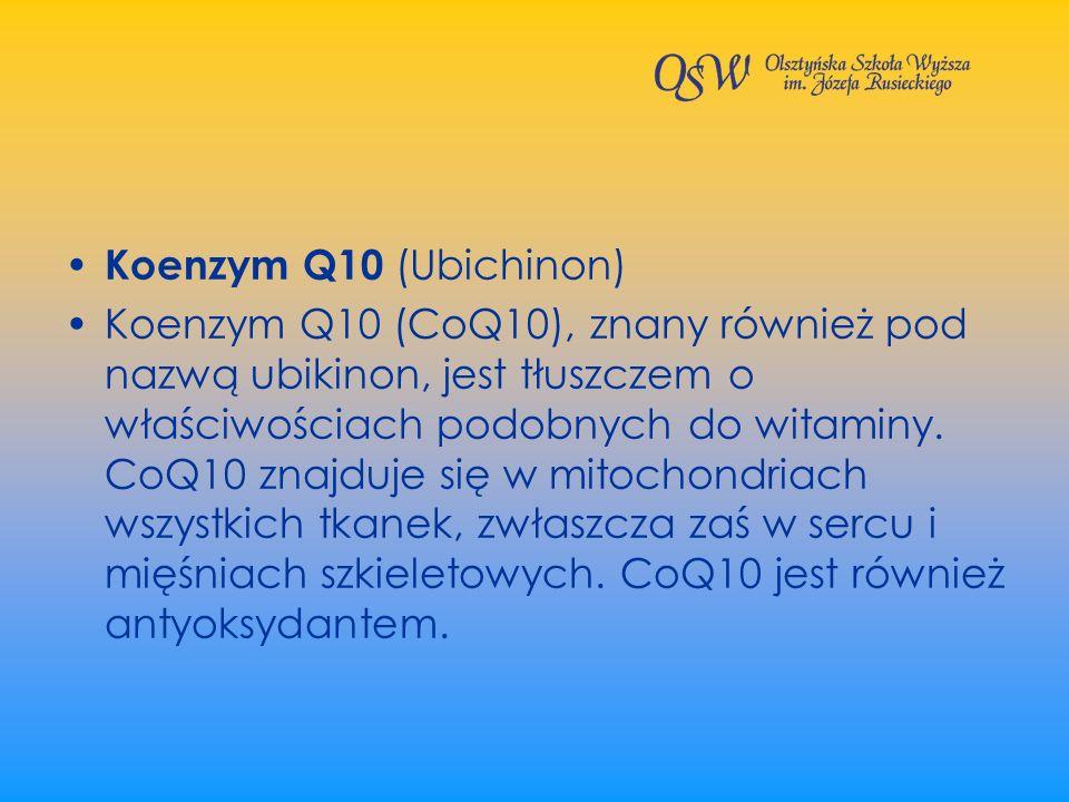 Koenzym Q10 (Ubichinon)