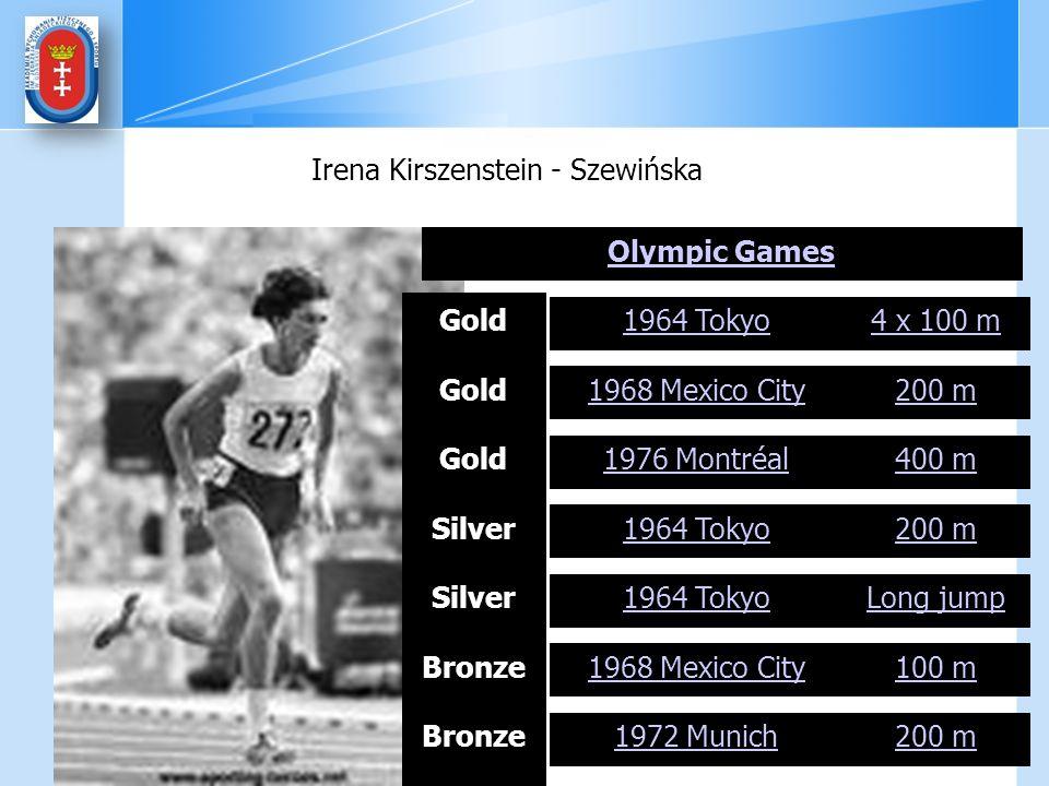 Irena Kirszenstein - Szewińska