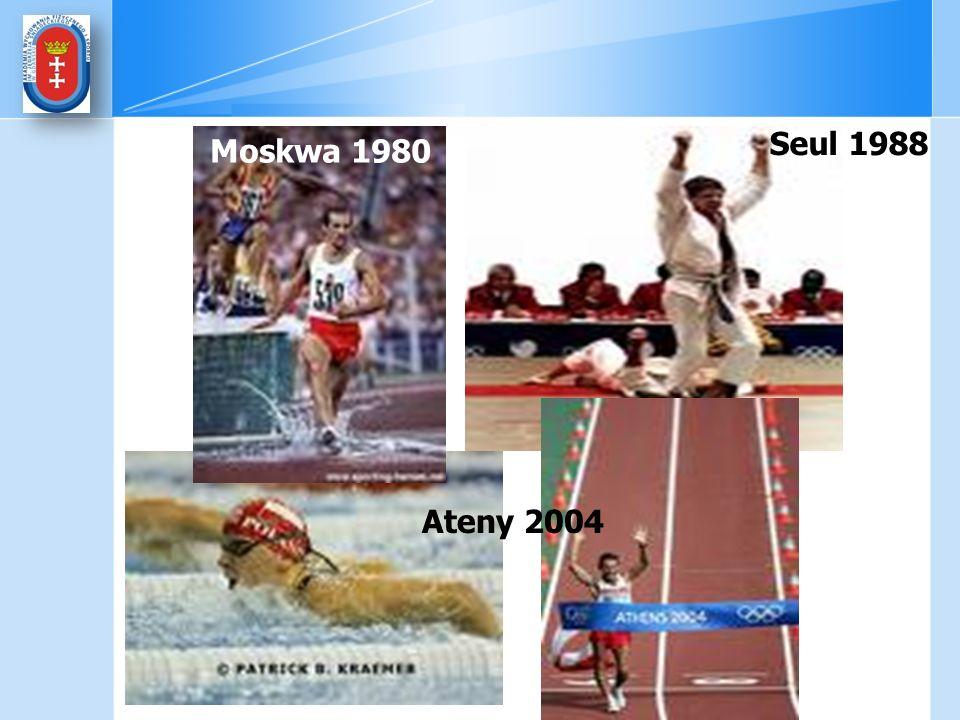 Seul 1988 Moskwa 1980 Ateny 2004