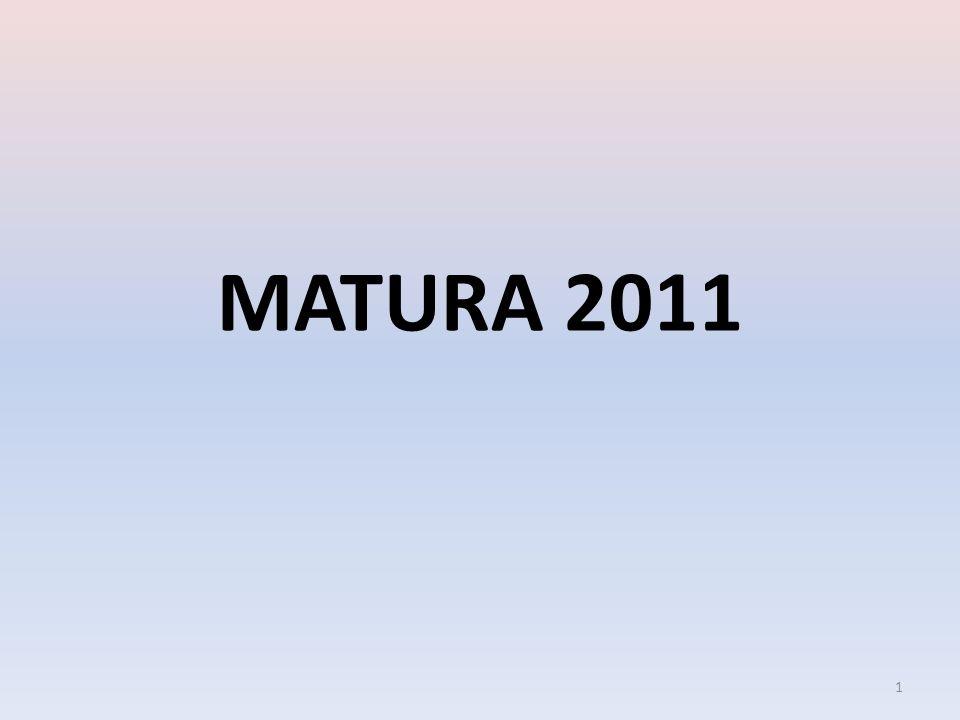 MATURA 2011