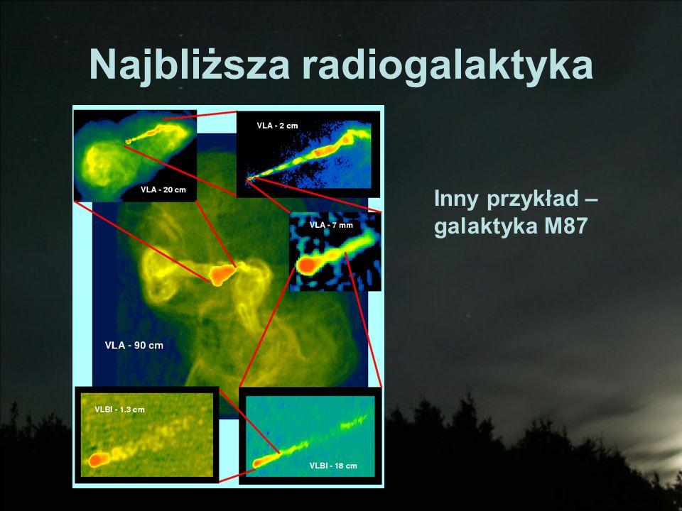 Najbliższa radiogalaktyka