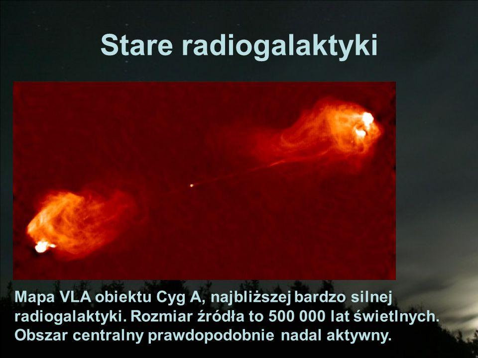 Stare radiogalaktyki