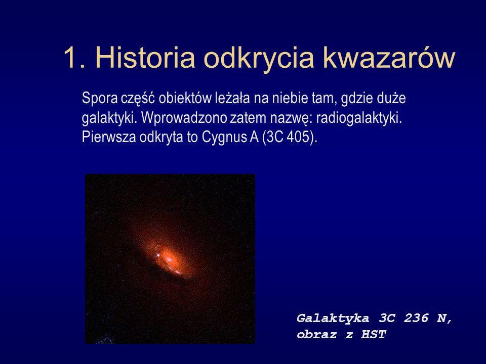 1. Historia odkrycia kwazarów