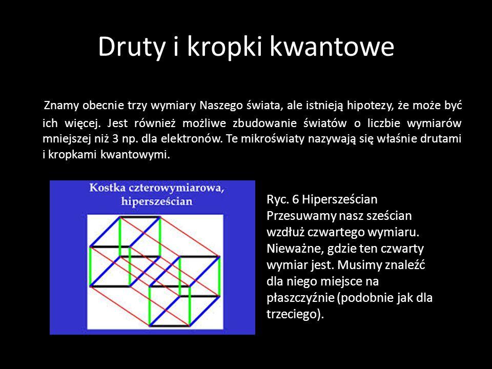Druty i kropki kwantowe