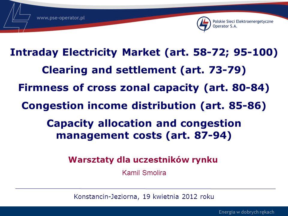 Warsztaty dla uczestników rynku