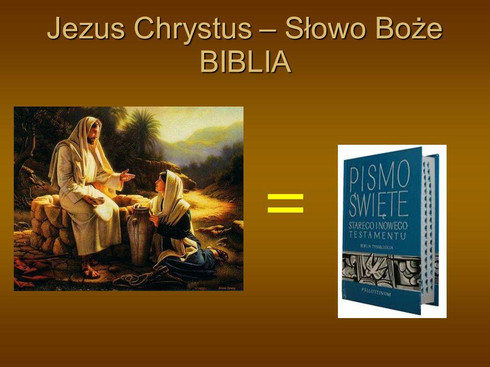 Jezus Chrystus – Słowo Boże BIBLIA