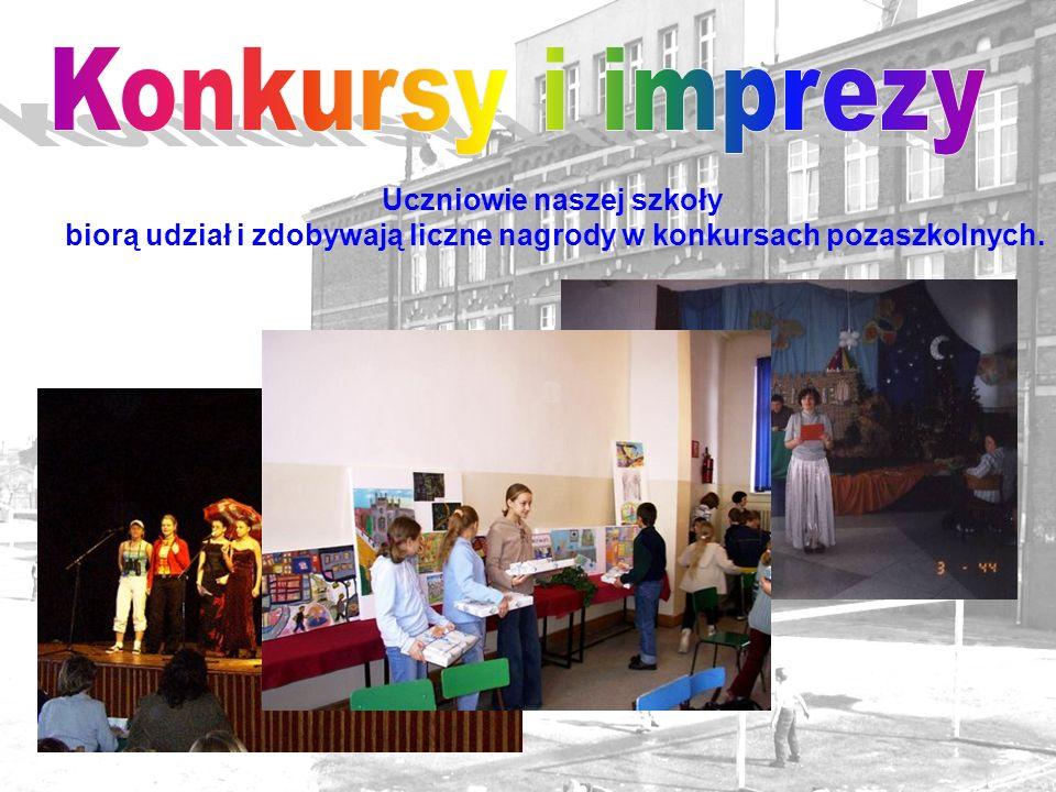 Konkursy i imprezy Uczniowie naszej szkoły