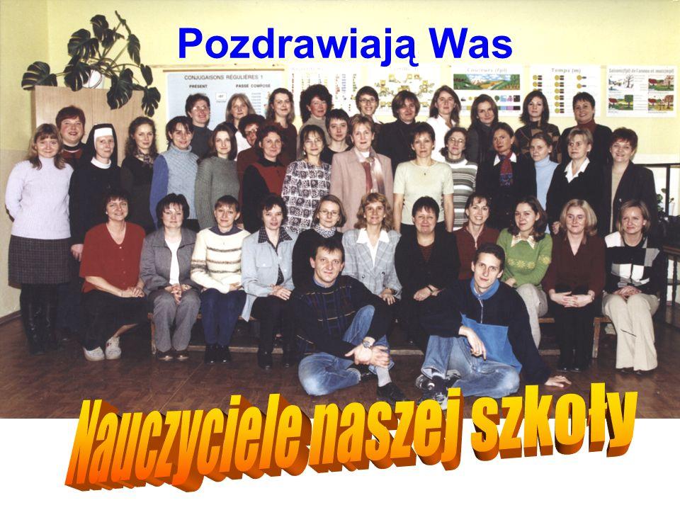 Nauczyciele naszej szkoły