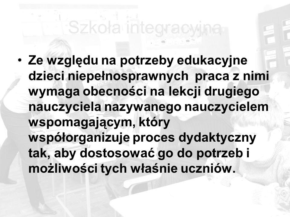 Szkoła integracyjna