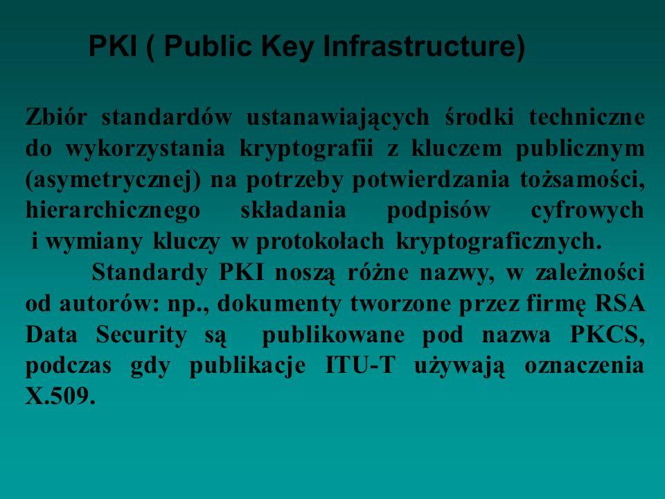 PKI ( Public Key Infrastructure)