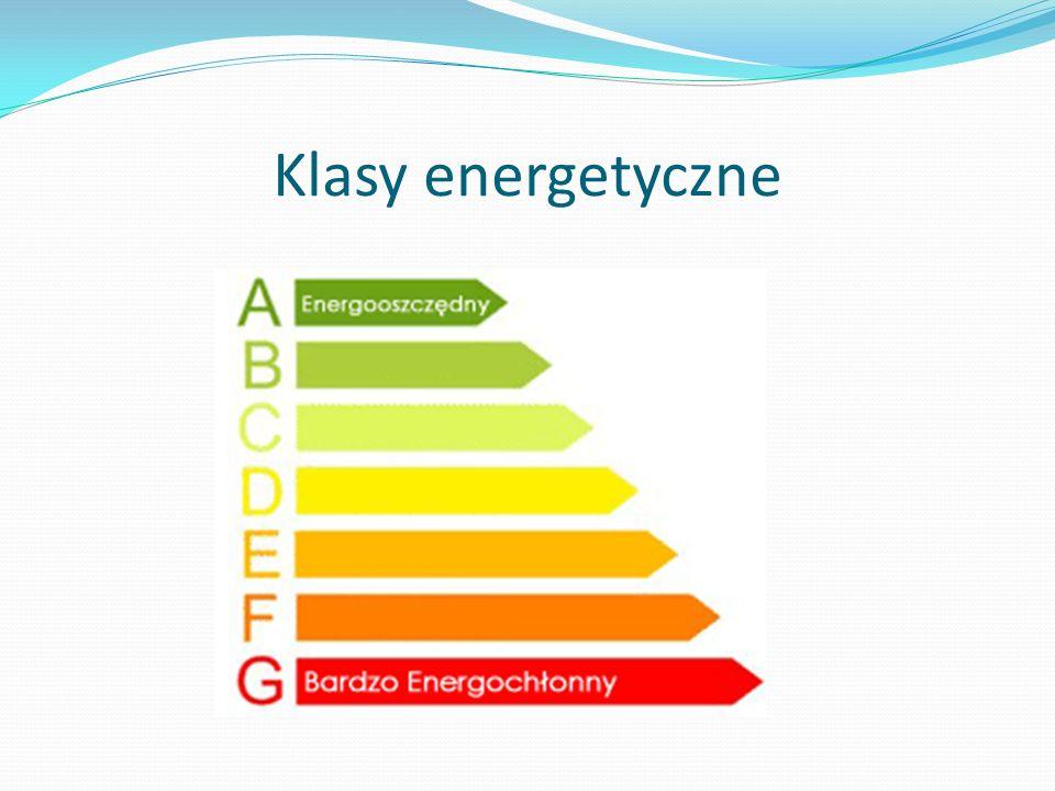 Klasy energetyczne Klasy energetyczne