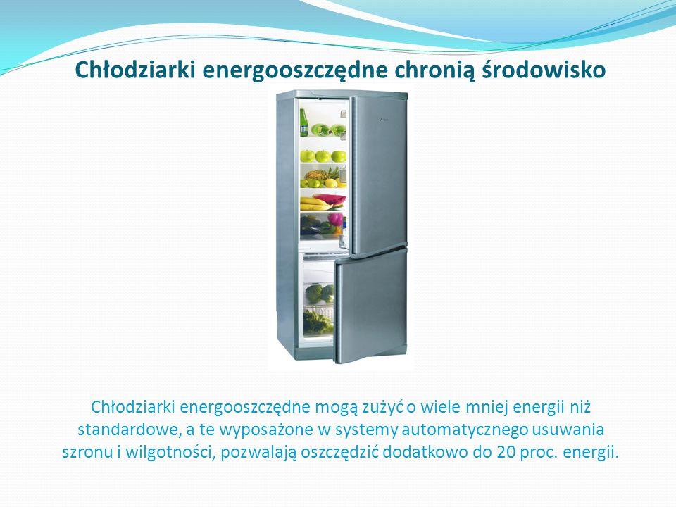 Chłodziarki energooszczędne chronią środowisko