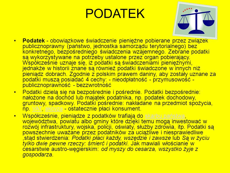 PODATEK