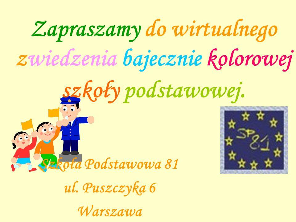 Szkoła Podstawowa 81 ul. Puszczyka 6 Warszawa