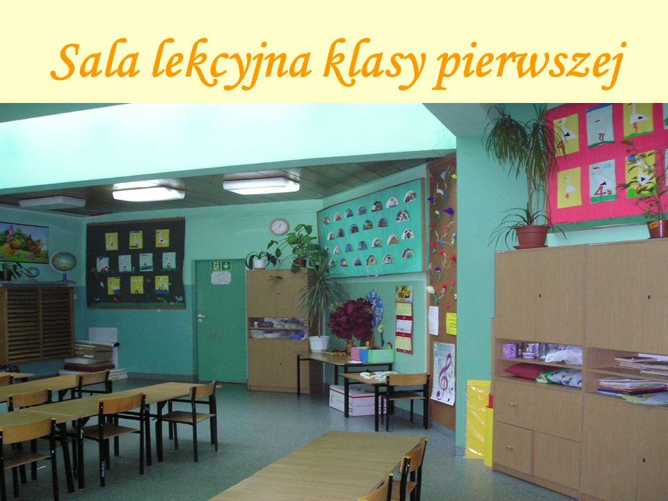 Sala lekcyjna klasy pierwszej
