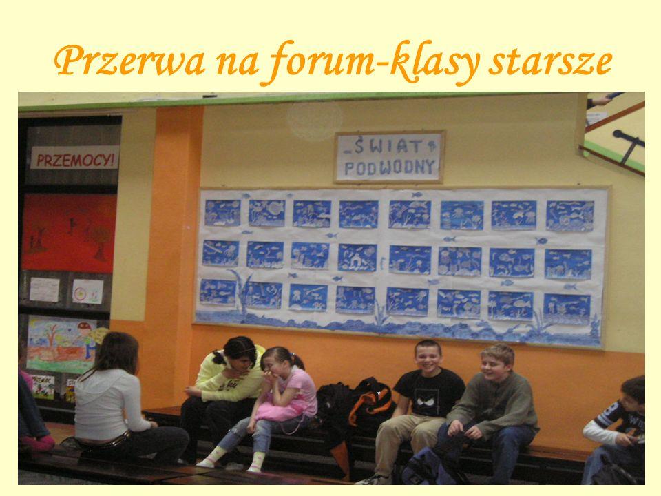 Przerwa na forum-klasy starsze