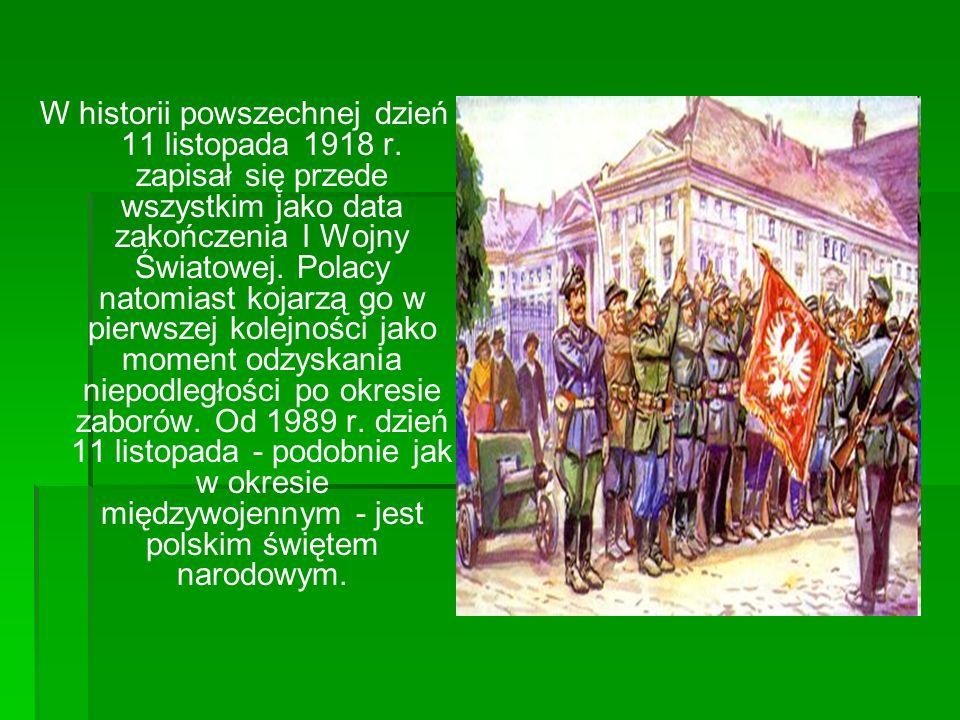 W historii powszechnej dzień 11 listopada 1918 r
