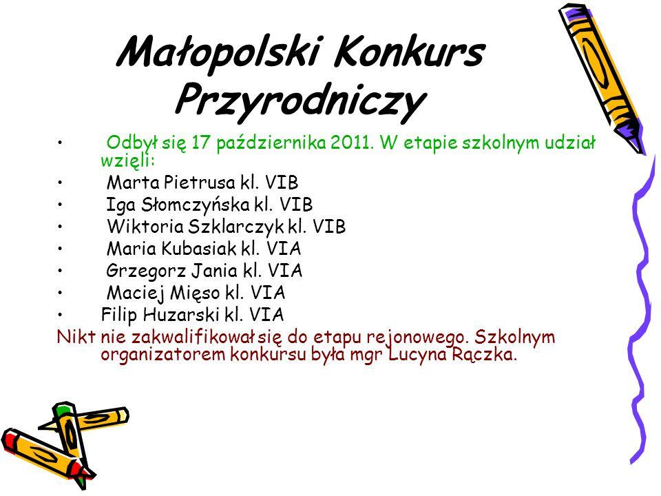 Małopolski Konkurs Przyrodniczy