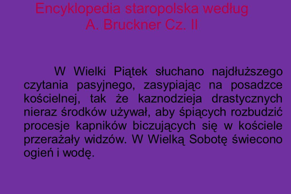 Encyklopedia staropolska według A. Bruckner Cz. II