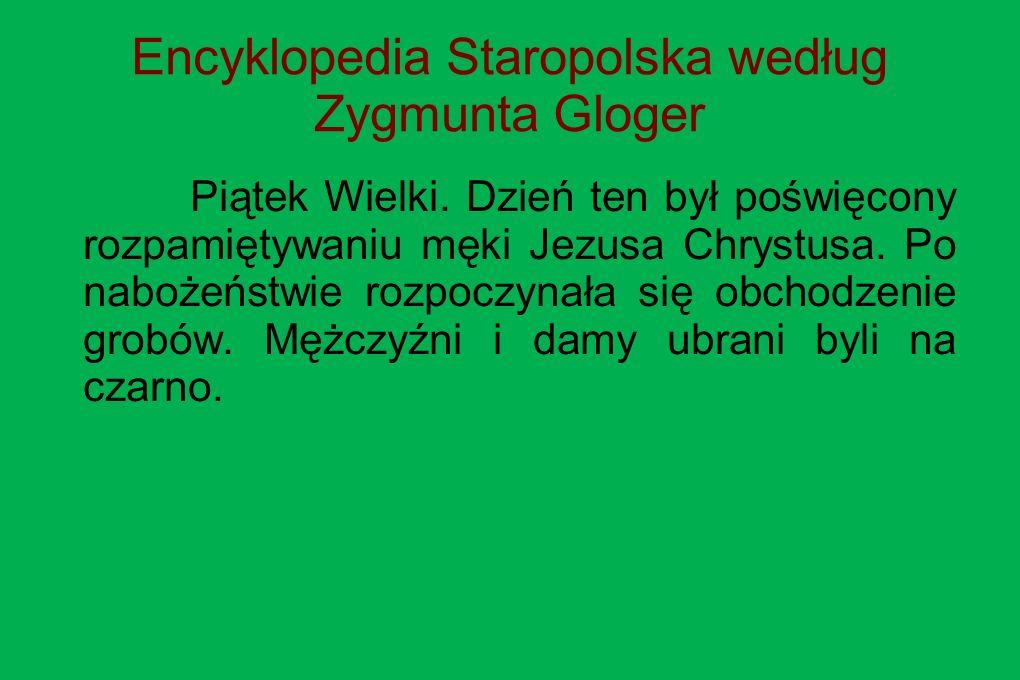 Encyklopedia Staropolska według Zygmunta Gloger