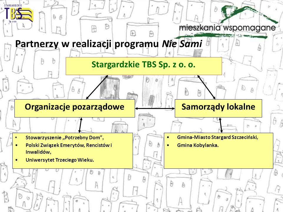 Stargardzkie TBS Sp. z o. o. Organizacje pozarządowe