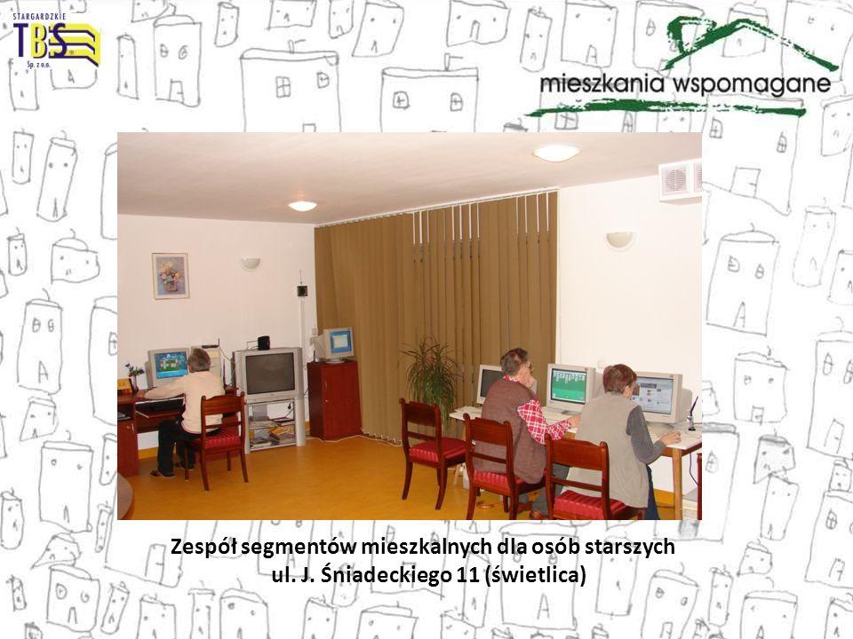 Zespół segmentów mieszkalnych dla osób starszych