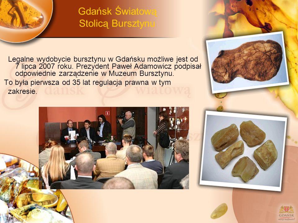 Gdańsk Światową Stolicą Bursztynu