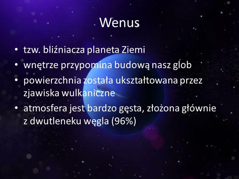 Wenus tzw. bliźniacza planeta Ziemi