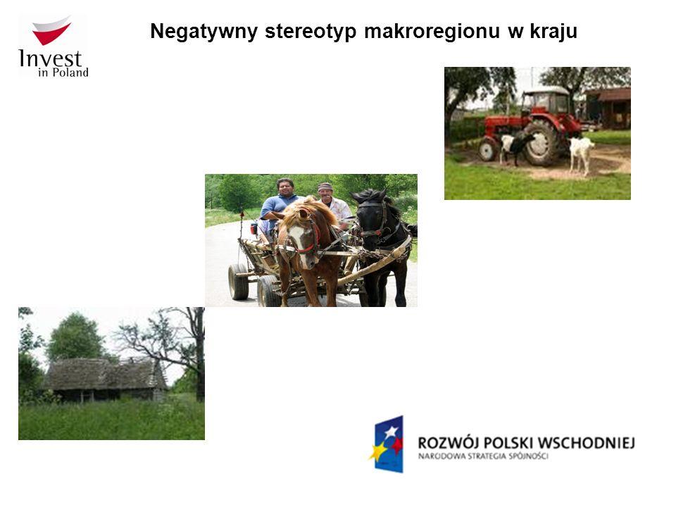 Negatywny stereotyp makroregionu w kraju