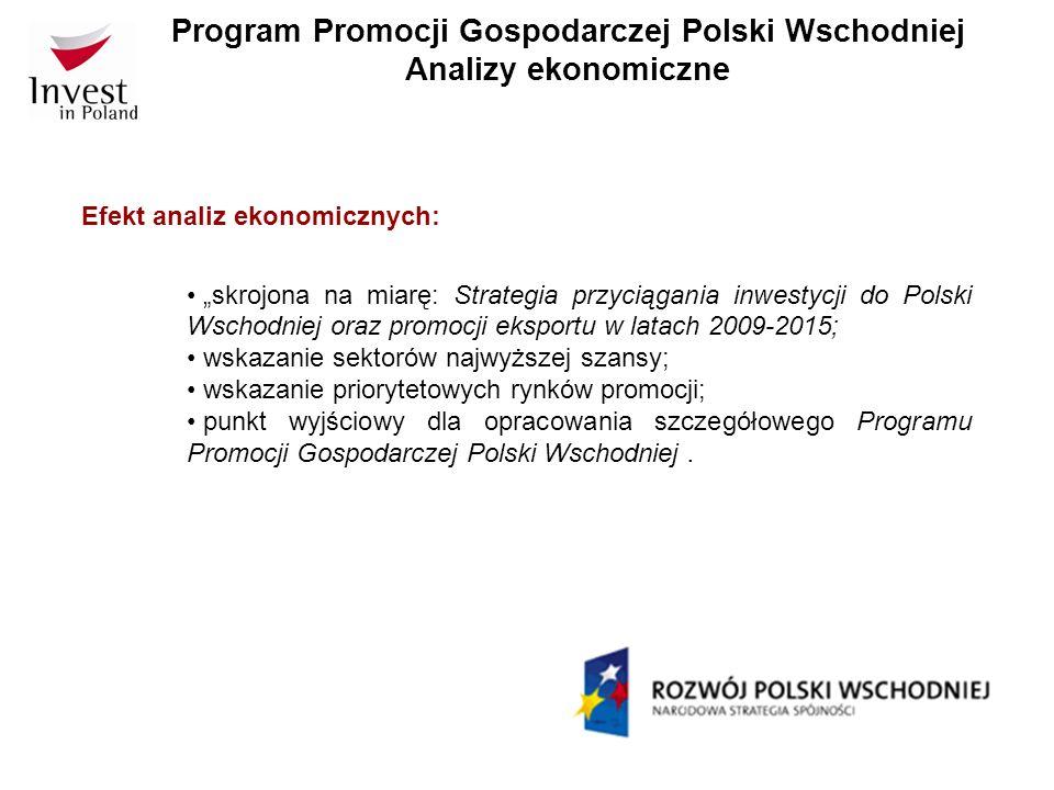 Program Promocji Gospodarczej Polski Wschodniej