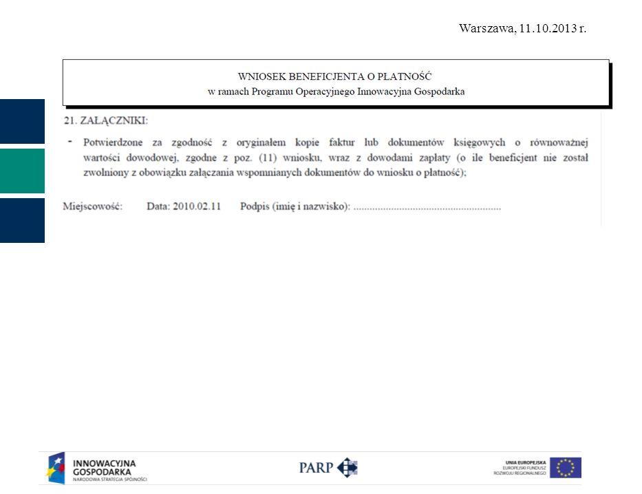 Wniosek podpisany przez upoważnioną osobę (z dok