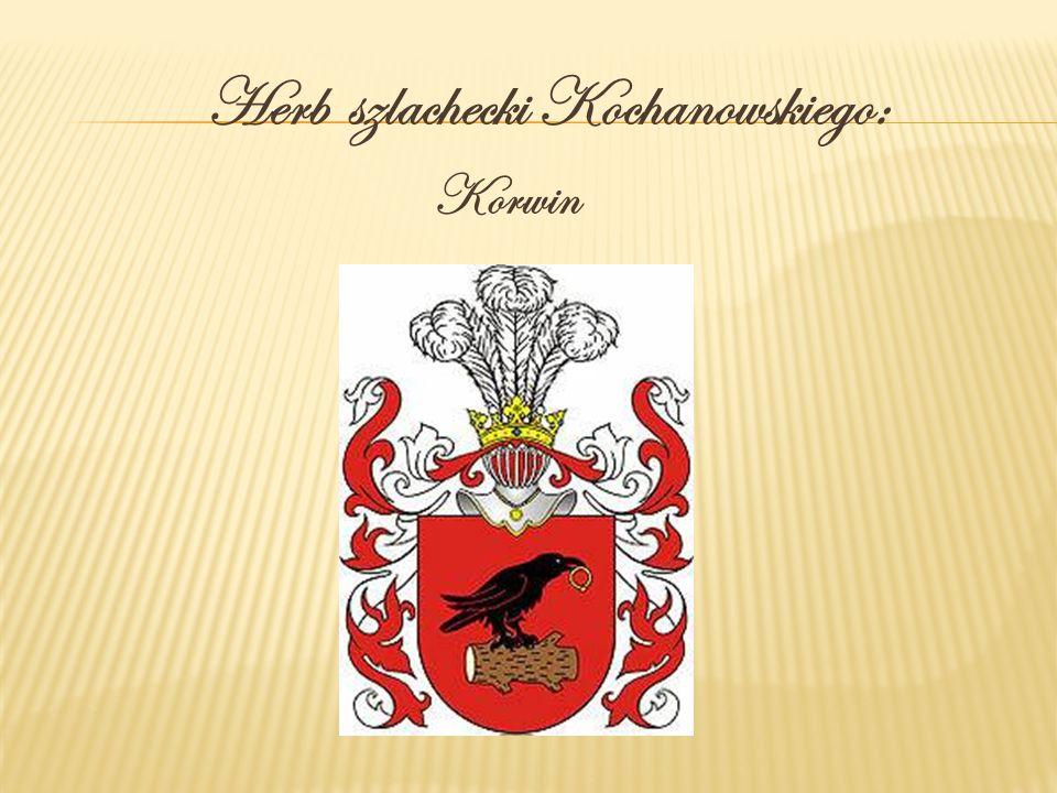 Herb szlachecki Kochanowskiego: