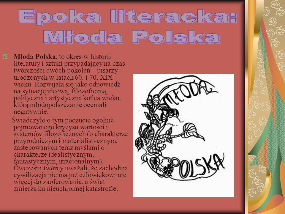 Epoka literacka: Młoda Polska
