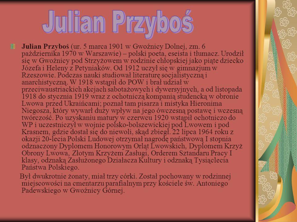 Julian Przyboś
