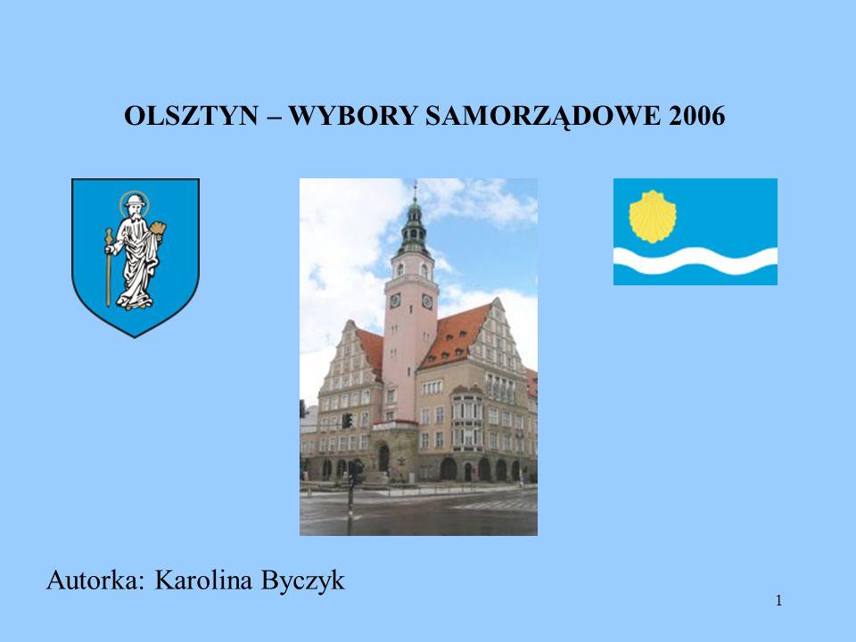 OLSZTYN – WYBORY SAMORZĄDOWE 2006