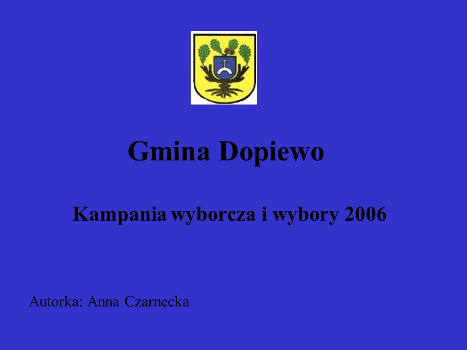 Kampania wyborcza i wybory 2006
