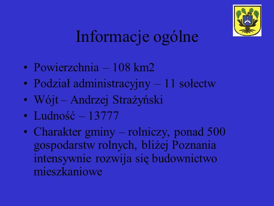 Informacje ogólne Powierzchnia – 108 km2